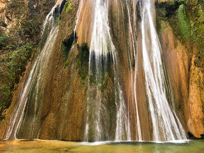 Cola de Caballo, cascadas en México, Monterrey.